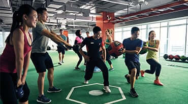 Fitness First Philippines freestyle group training core class