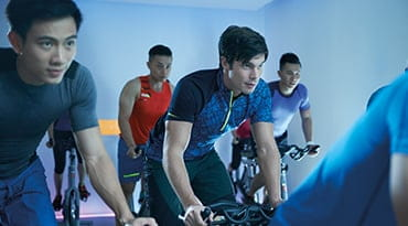 Fitness First Philippines pro 45 indoor cycling class