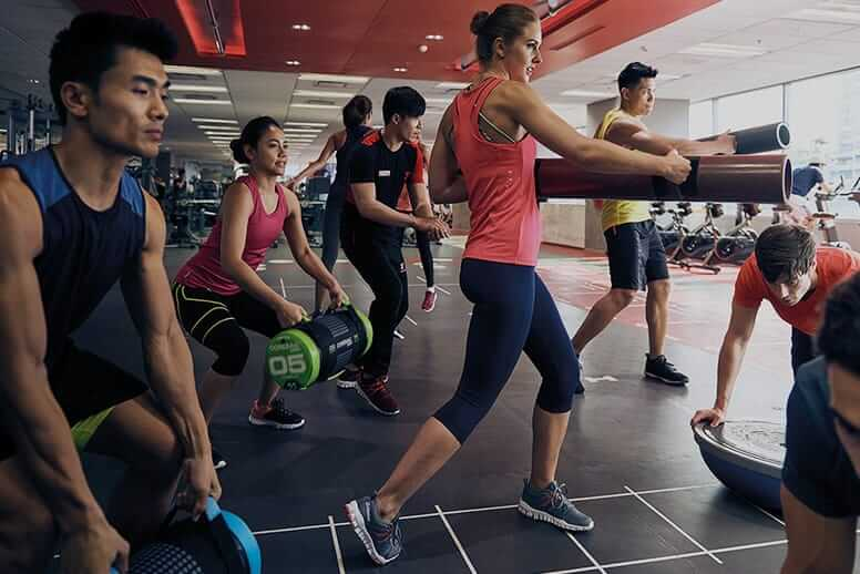 Fitness First Philippines workout timetable